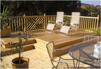 Gower Timber Decking